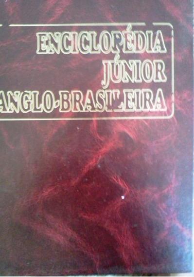 Enciclopedia Junior Anglo Brasileira 5 Volumes Completa