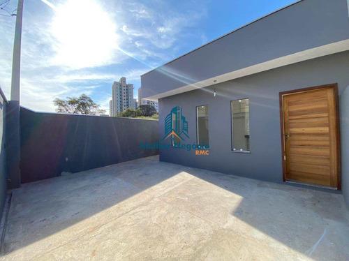 Imagem 1 de 15 de Casa Com 2 Dorms, Jardim Nova Hortolândia I, Hortolândia - R$ 270 Mil, Cod: Ca1144 - Vca1144