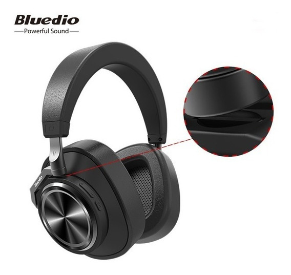 Fone Bluetooth Bluedio T7 Black