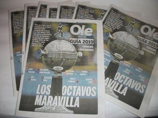Dos Guias Copa Libertadores 2019 - Completa Y Octavos