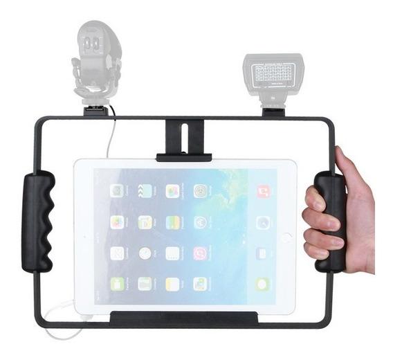 Suporte De Tablets iPad P/gravação Em Pedestal De Microfone