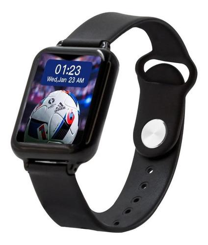 Smartwatch Haiz Smartwatch B57 1.3  Caixa  Preta Pulseira  Preta