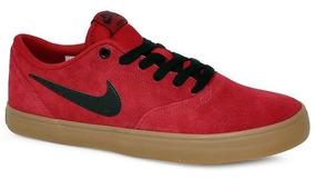 Tênis Nike Sb Check Solar 843895-601 Vermelho/preto