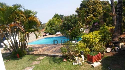 Chácara Com 3 Dormitórios À Venda, 1000 M² Por R$ 550.000,00 - Recanto Dos Dourados - Campinas/sp - Ch0364