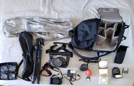 Vendo Kit Fotografia Para Iniciante Camera Canon T31