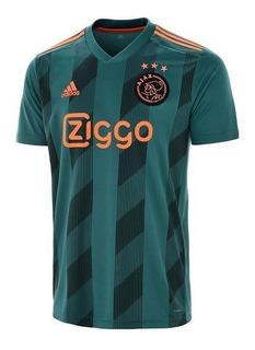 Camisa Ajax Away Verde 2020 Nova Pronta Entrega