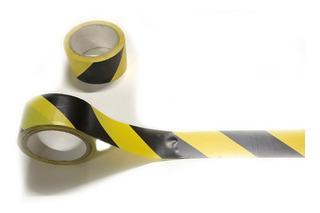 3 Cinta3 Marcaje Amarillo Con Negro Precaucion Pisos Riesgo
