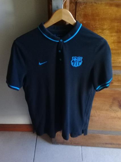 Chomba Polo Pique Nike Original Barcelona Fc Y Brasil