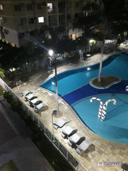 Apartamento Com 2 Dormitórios À Venda, 47 M² Por R$ 290.000 - Campo Grande - Rio De Janeiro/rj - Ap0937