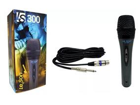 Microfone Leson Ls300 Cardioide C/ Fio