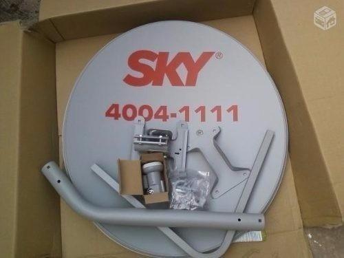5 Kits (antenas Sky+lnb+cabo+conector)