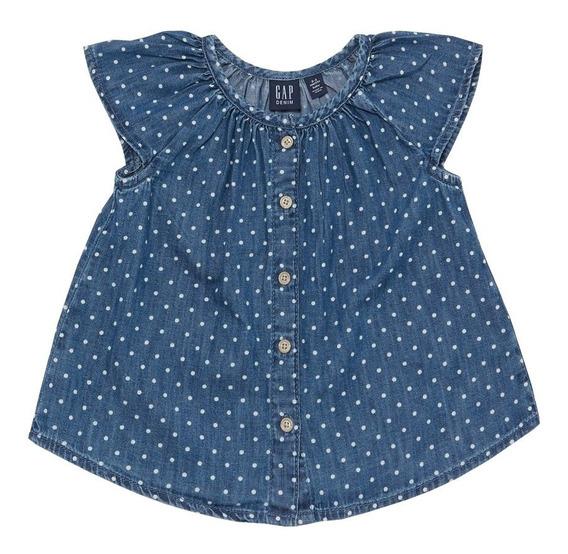 Vestido Casual Niña Bebé Estampado Puntos 443873 Gap