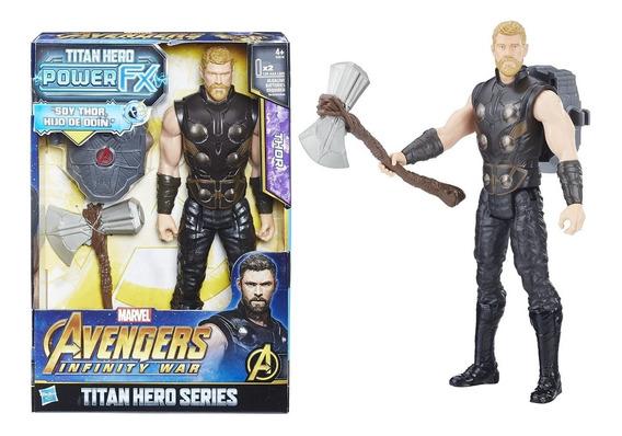 Thor Infinity War Titan Hero Electrónico Series Power Fx