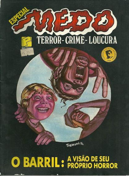 Revista Medo - Terror - Crime - Loucura