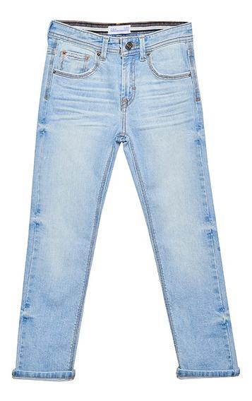 Jeans Slim De Niños C&a 1058777