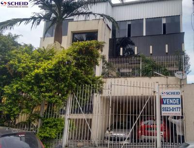 Ampla Casa Comercial 360m Construído, Várias Salas 3 Suites Piscina - Mr54433