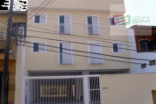Imagem 1 de 7 de Apartamento S/ Condomínio Em Vila Vitoria - Santo André - 4443