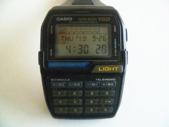 Relógio Casio Databank Dbc 150 Modulo 1477