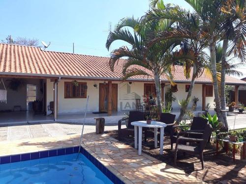 Imagem 1 de 18 de Chácara Com 2 Dormitórios À Venda, 800 M² Por R$ 870.000,00 - Parque Da Represa - Paulínia/sp - Ch0459