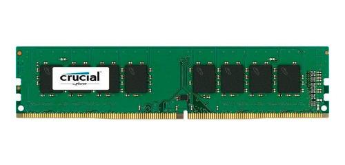 Imagem 1 de 1 de Memoria 8gb Ddr4 2400 - Crucial