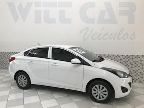Hyundai Hb20s Comfort Plus 1.6 Flex 2014 Branco Único Dono