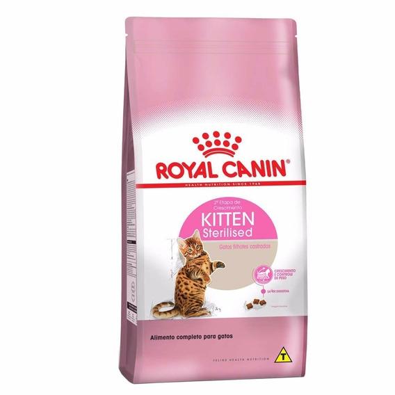 Ração Royal Canin Gatos Kitten Sterilised 7,5kg Fil.castrado