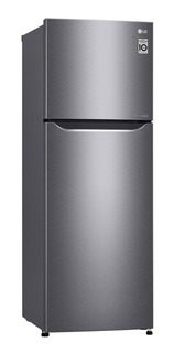 Refrigerador inverter no frost LG GT26BPG con freezer 253L