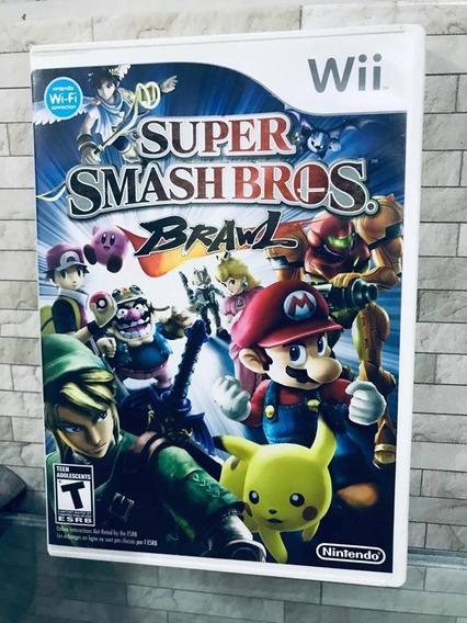Jogo Super Smash Bros Nintendo Wii