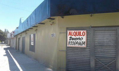Dueño Alquila Local 260 Mts Quilmes Oeste