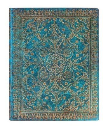 Caderno Paperblanks Flexis Equinoxe Azure Pautado 23x18cm