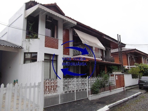 Casa Duplex À Venda No Anil, 237m², Linda, Estilo Colonial!