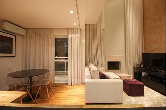 Apartamento Duplex Em Chácara Santo Antônio (zona Sul), São Paulo/sp De 82m² 1 Quartos À Venda Por R$ 900.000,00 - Ad491047