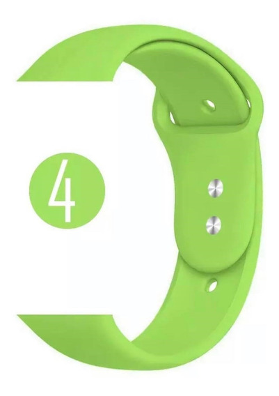 Pulseira Apple Watch Silicone Sport 38mm 40mm 42mm 44mm Top