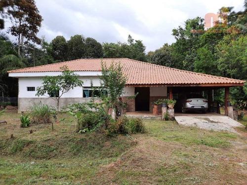 Chácara Com 3 Dormitórios À Venda, 2925 M² Por R$ 450.000,00 - Ana Dias - Itariri/sp - Ch0154