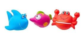 Brinquedos Hora Do Banho 3 Bichinhos - Girotondo Baby