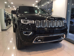 Jeep Grand Cherokee Overland 2018 Negra Linea Nueva!