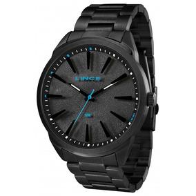 Relógio Lince Masculino Preto Mrn4385spapx