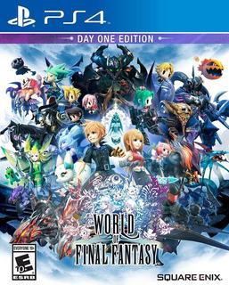 World Of Final Fantasy - Digital - Ps4 - Manvicio