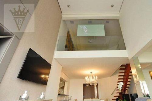 Penthouse Com 2 Dormitórios À Venda, 165 M² Por R$ 3.200.000,00 - Cidade Monções - São Paulo/sp - Ph0003