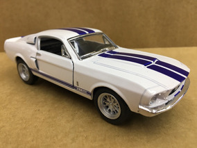 Miniatura Shelby Gt -500 Branca