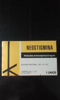 Ampollas De Neostigmina