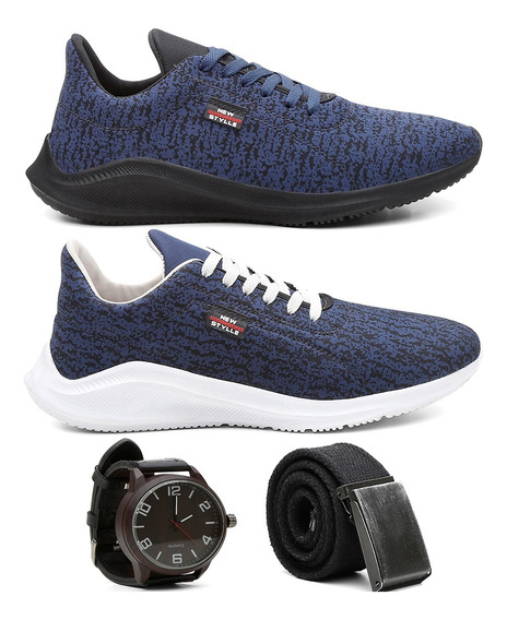 Combo 2 Pares Tênis Sapatênis Masculino Casual Oferta