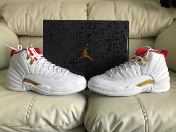 Tenias Air Jordan Retro 12 Fiba Del 28mx 10us