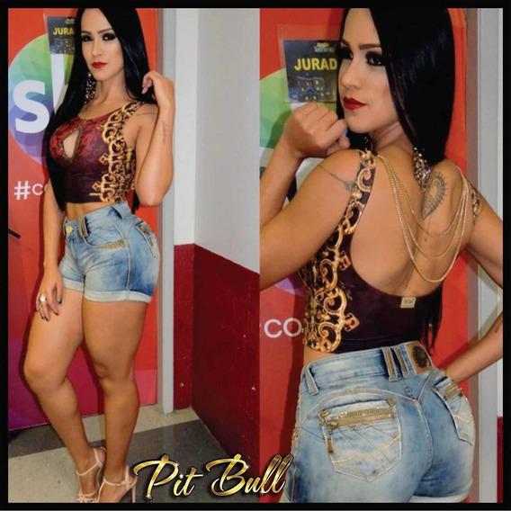 Short Pitbull Jeans Original Pit Bull Levanta Bumbum
