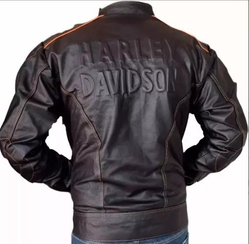 Jaqueta Masculina Ou Feminina Harley Couro