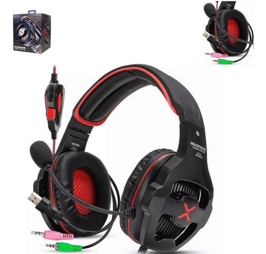 Fone De Ouvido Headset Gamer Super Bass Hf-g650