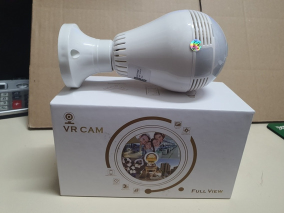 Lâmpada Camera Wifi Ip