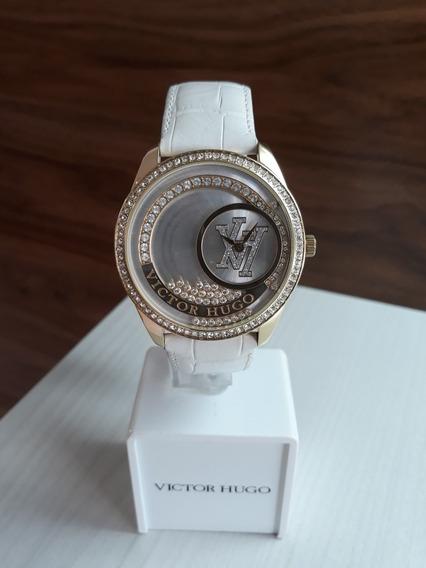 Relógio Victor Hugo Vh10111 + Garantia De 1 Ano + Nf