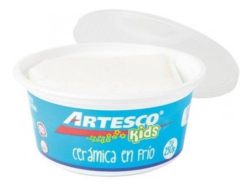 Imagen 1 de 3 de Cerámica En Frío | 250g | Artesco | Blanca