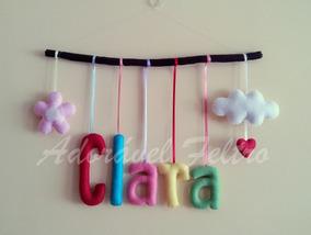 Móbile Letras No Galho - Clara